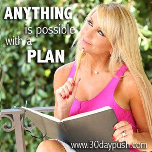 How to achieve your  Goals: Chalene Johnston's 30 day challenge Join this FREE Challenge at www.30daypush.com. In just a few minutes a day Chalene Johnston will show you how to master organization, learn how to Reverse Engineer, and set and accomplish crazy cool goals faster than you ever imagined! Anything is possible with a plan, and this is YOUR year!