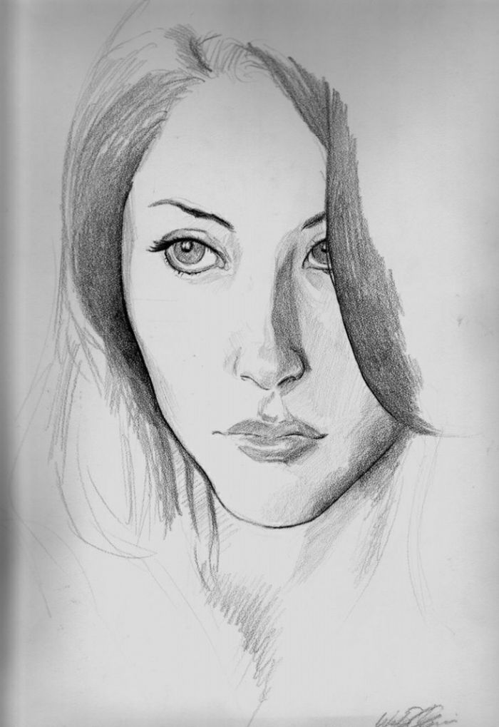 1001 Ideas De Imagines De Nina Dibujo Para Inspirarte Pencil Drawings Of Nature Pencil Art Drawings Pencil Portrait