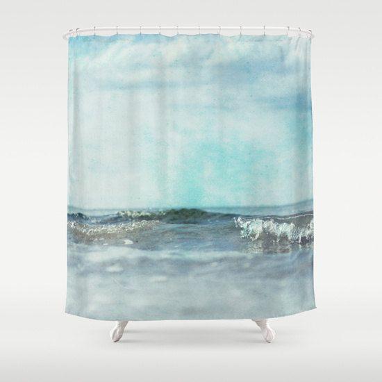 Shower Curtain Bathroom home decorcurtain purple blue by tlshd