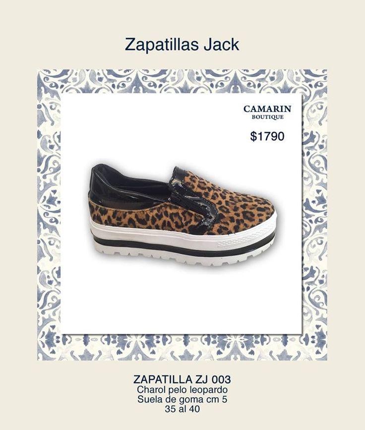 #Zapatillas Jack #Charol y pelo #Leopardo Suela de goma 5cm https://www.facebook.com/media/set/?set=a.768323559857766.1073741948.149353421754786&type=3
