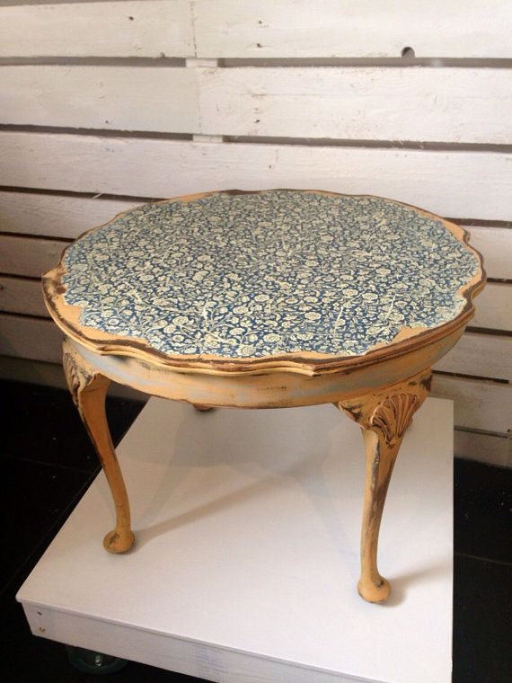Shabby+Chic+Victorian+Coffee+Table+w+Decoupage+in+by+urbanrook,+£145.00