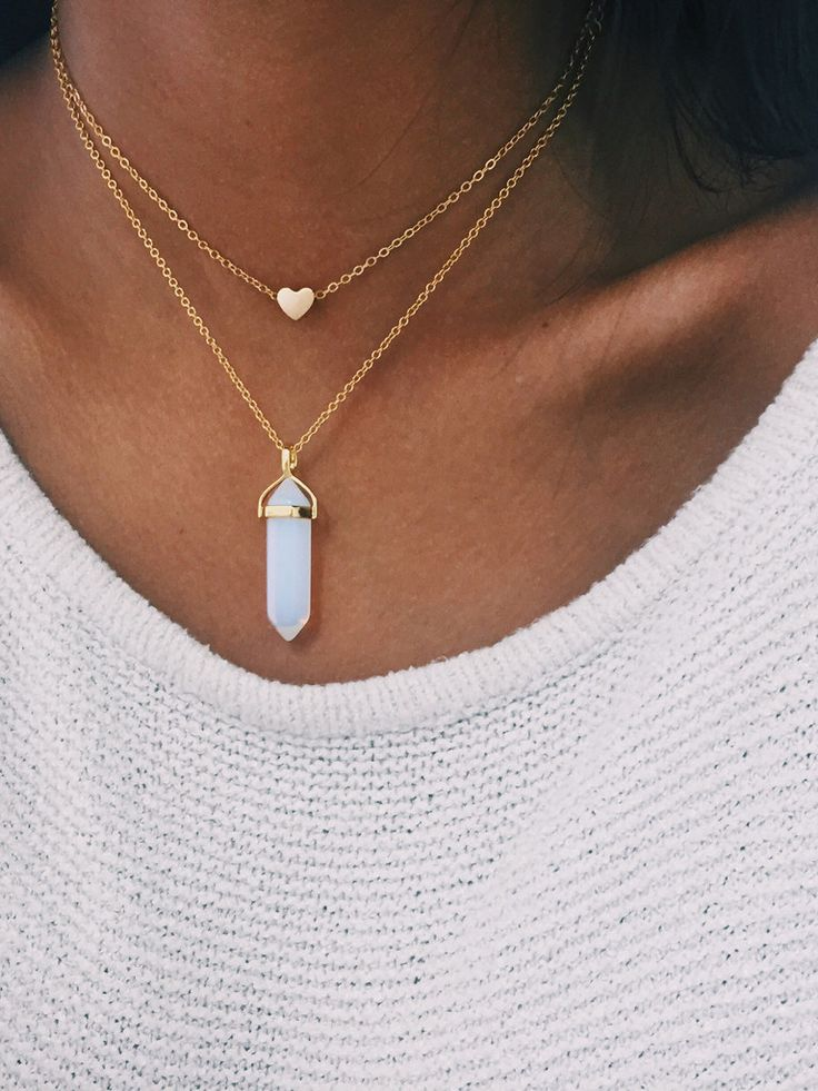 Opal - Gold crystal