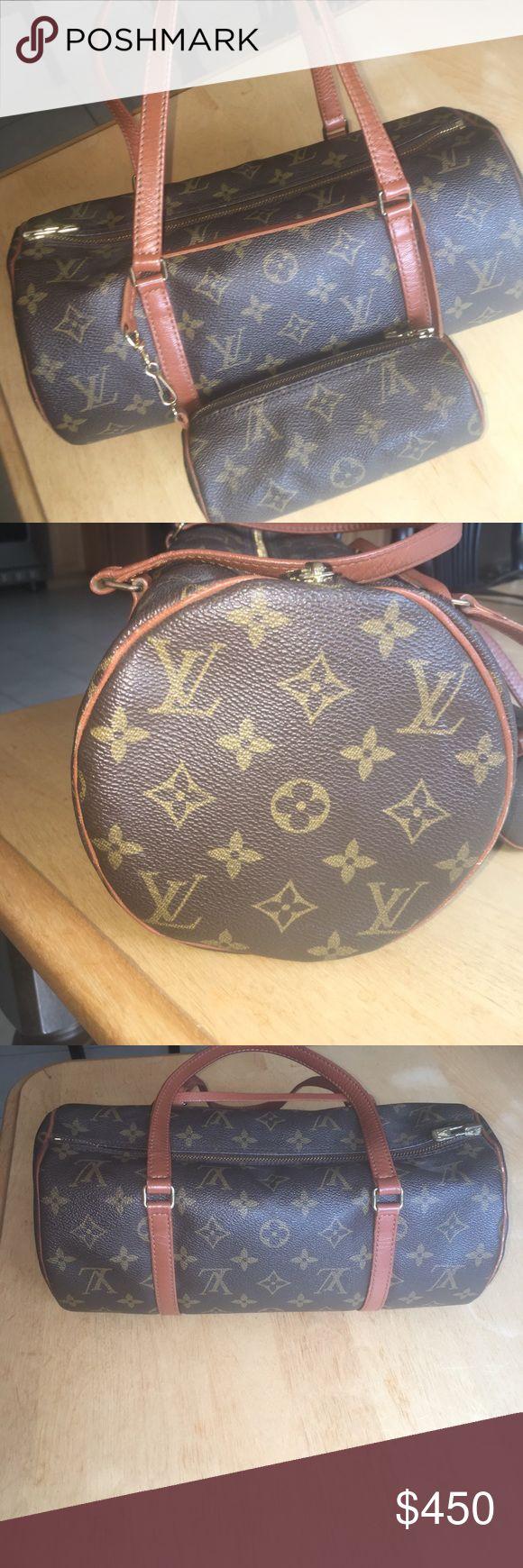 Authentic original Louis Vuitton Papillon Handbag Barely Used.   Very clean.   Iconic classic monogram canvas.   Elegant. Louis Vuitton Bags Shoulder Bags