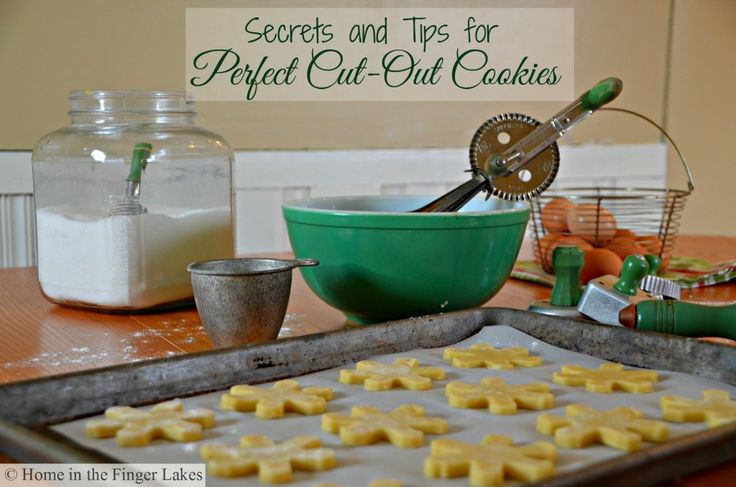 Tips for Perfect Cut Out Cookies from Home in the Finger Lakes