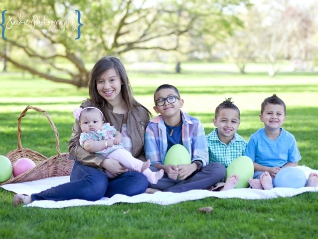 Family Picture Ideas For Easter
