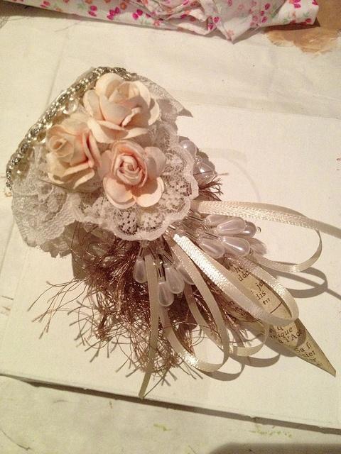 Tussie Mussie I made. by Biancasbud, via Flickr