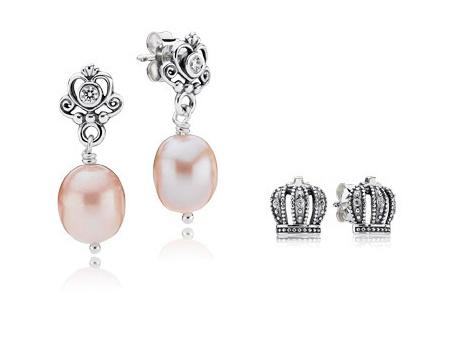 Pandora My Sweet Princess Earring