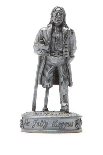 Robert Burns Chess Set Piece - The jolly beggars - Pawn