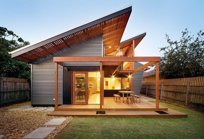 Industrial Modern Roof Design Industrial House Exterior