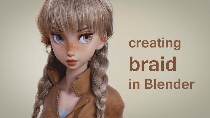 Creating Braid in Blender