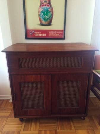 Original Mid Century Radio Bar Or Storage Williamsburg BrooklynRadiosMid CenturyDining Room