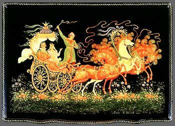 Russian fairy tales - Maria Morevna