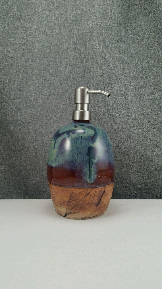 Made to Order Ceramic Soap Dispenser Handmade by 3PointsArtwork