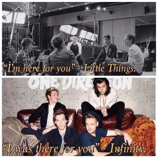 Little Things - Infinity | One Direction >>>  what does that exactly mean?