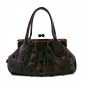 Ms. Betty in Purple - Susan Nichole Vegan Handbag Style #107