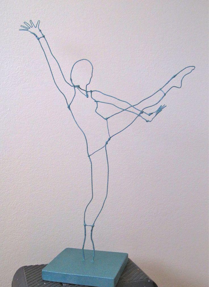 wire figure sculpture - Google Search