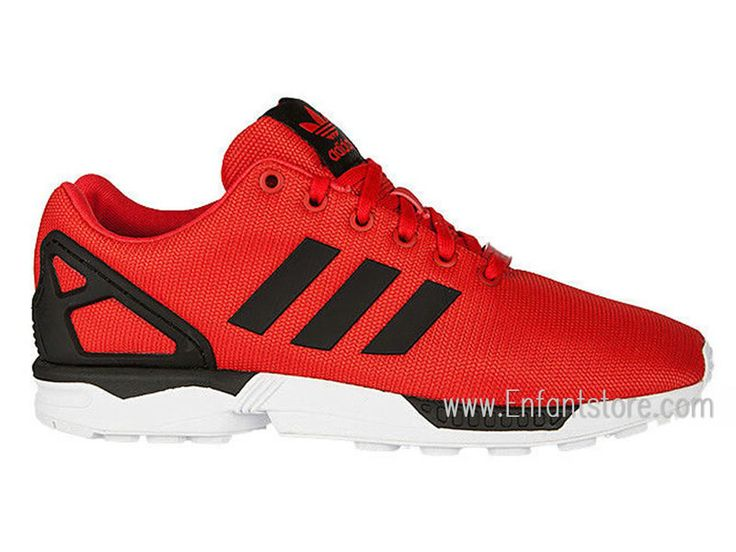 newest 569d1 21557 new zealand adidas zx flux poppy red ebay f5c8d d95d7
