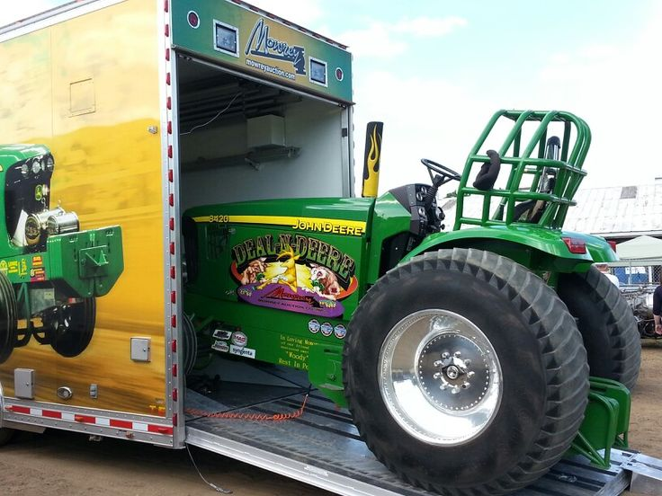 John Deere Super Stock Pulling Tractors : Best images about pulling tractor pics on pinterest