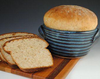 Bread Baker 12 RECIPES Included Bread Baking Pot by nealpottery