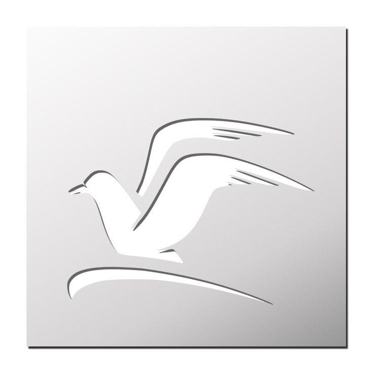 Les 401 meilleures images propos de pochoirs sur for Pochoir oiseau