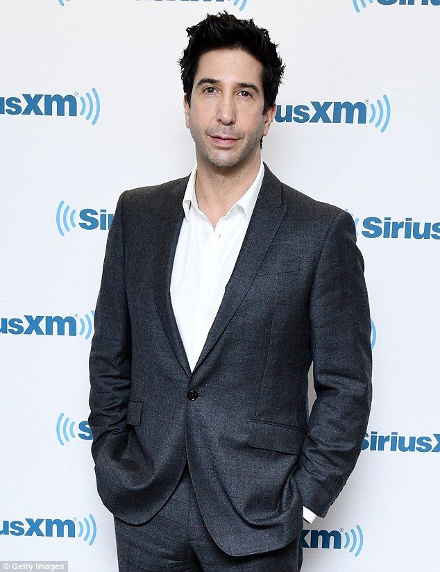 No reunion: David Schwimmer has denied that his Friends character Ross Gellar will reunite...
