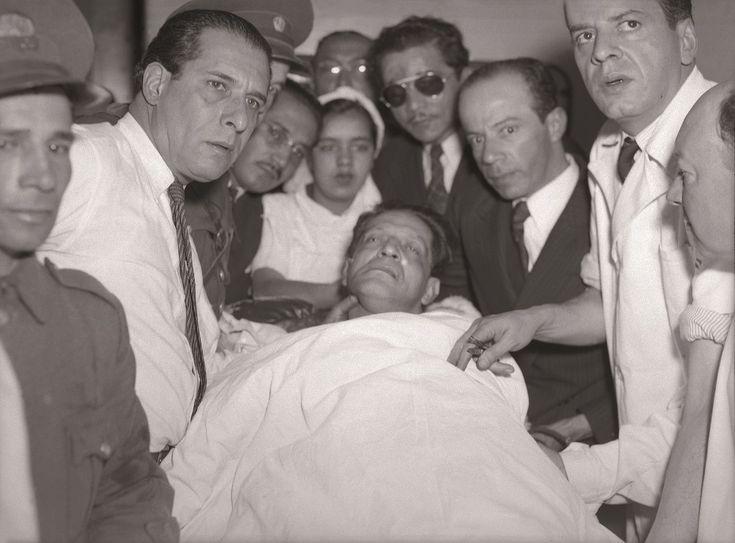 Cadáver de Jorge Eliecer Gaitán, 9 de abril de 1948, Bogotá