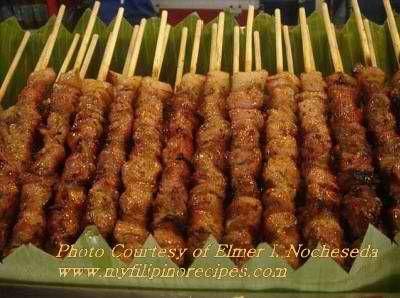 Filipino Pork Barbecue Recipe (with peanut-butter)