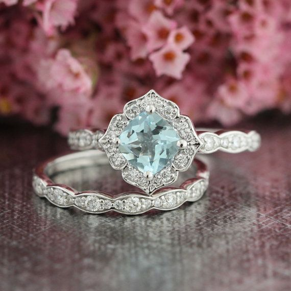 Hey, I found this really awesome Etsy listing at https://www.etsy.com/listing/265332092/mini-vintage-floral-aquamarine