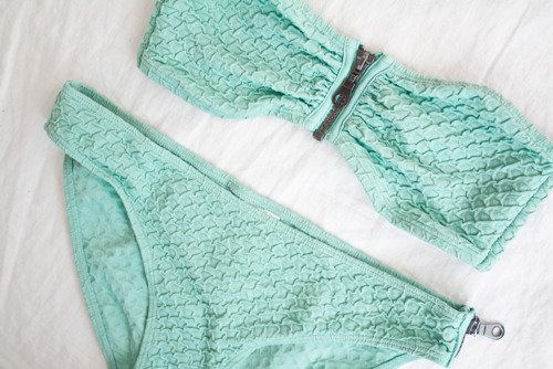 Mint swim suits
