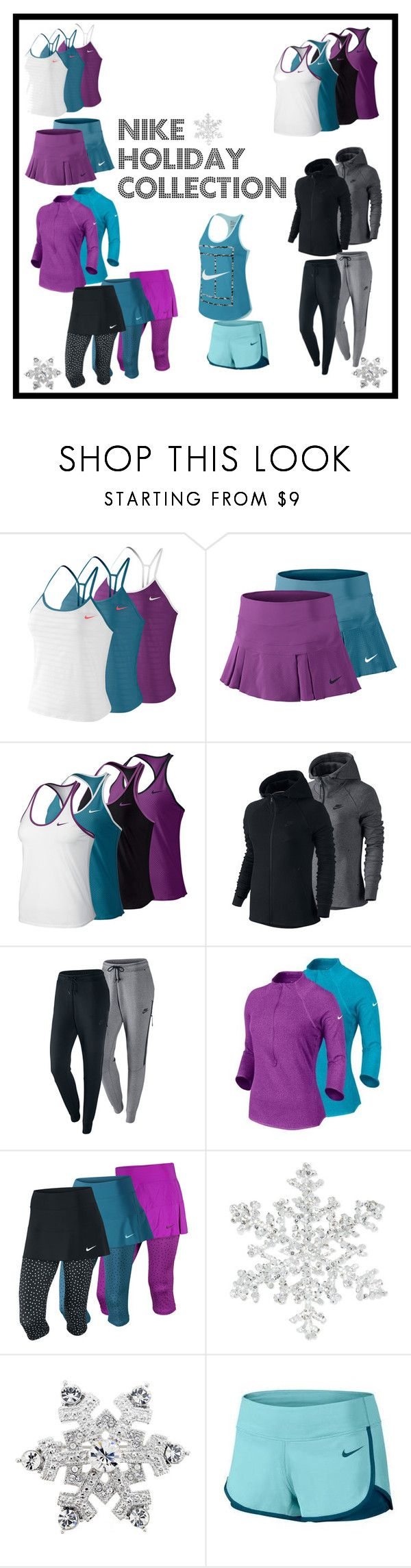 Nike Holiday Collection Now at Tennis Express! by tennisexpress on Polyvore featuring NIKE