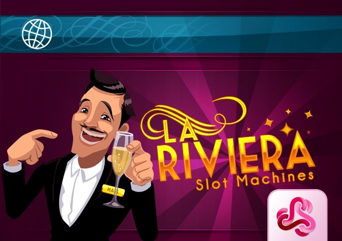 La Riviera. Our brand new slot game on Facebook!