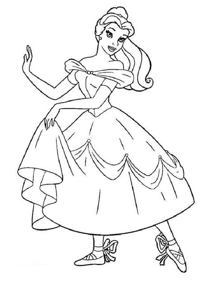 Pin By Sauri On Raskraski Dlya Detej Ballerina Coloring Pages Princess Coloring Pages Dance Coloring Pages