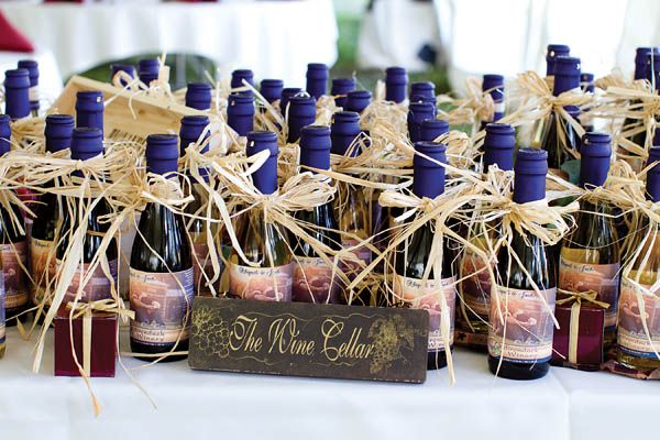 Of course, if you really want your guests to love you, give them each a full bottle of wine!