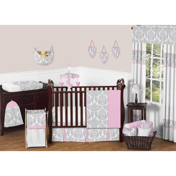 Sweet JoJo Designs 11pc Elizabeth Crib Bedding Set