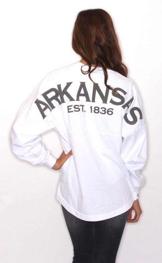 Riffraff | Arkansas Spirit Jersey - white
