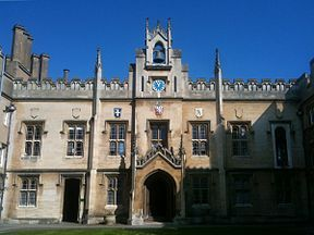 Sidney Sussex College Chapel