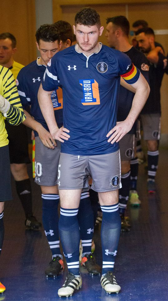 Queen's Park's Ryan McGeever before the Ladbrokes League One game between Queen's Park and Livingston.