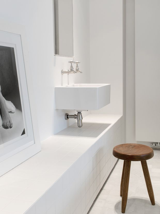 Minimal Loft Bathroom JR Loft A Clean & Minimal Loft in Belgium