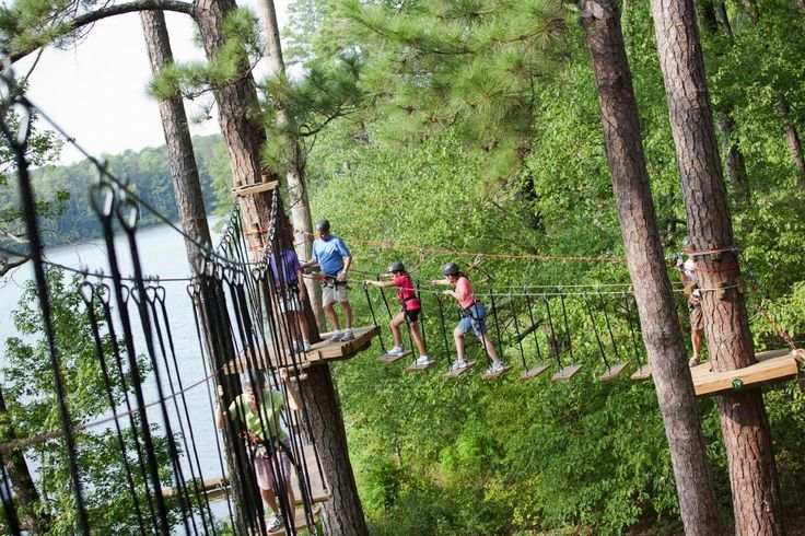 Zip-lining Adventure Park in Ontario....in Canada really your the only one who could get me to go Gattina
