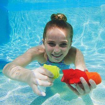 SwimWays Tiki Totem Divers Pool Dive Game