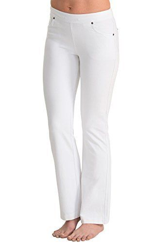 New Trending Denim: PajamaJeans - Lightweight Bootcut White Stretch Knit Denim Jeans for Women G04209, White, 1X (16-18W). PajamaJeans – Lightweight Bootcut White Stretch Knit Denim Jeans for Women G04209, White, 1X (16-18W)   Special Offer: $44.99      266 Reviews Defined by a clean, classic look, White jeans are a wonderful addition to any woman's wardrobe. Made for real bodies with real comfort,...