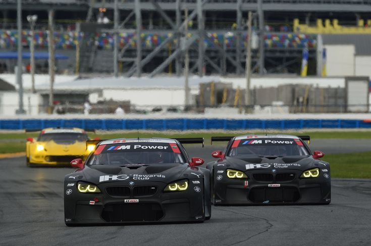 Race debuts for the BMW M6 GTLM and BMW M6 GT3 at the 24h Daytona - http://www.bmwblog.com/2016/01/25/race-debuts-for-the-bmw-m6-gtlm-and-bmw-m6-gt3-at-the-24h-daytona/