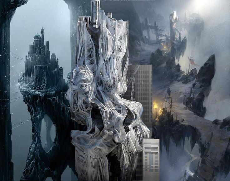chad weatherford de conceptartworld ® x tower, skyscraper, los