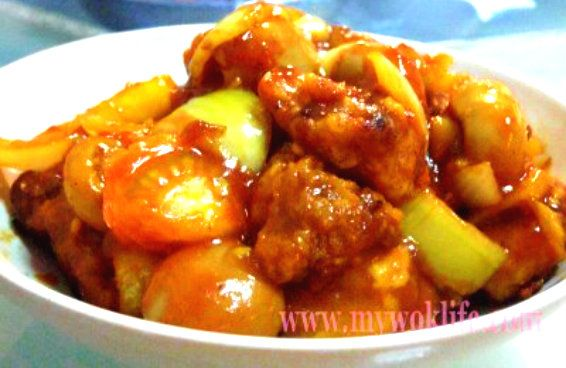 """My signature dish – Sweet and Sour Pork, for the kids and family!"" Unlike curry or sambal paste, you do not require blending and extra frying process for the sweet and sour sauce…"