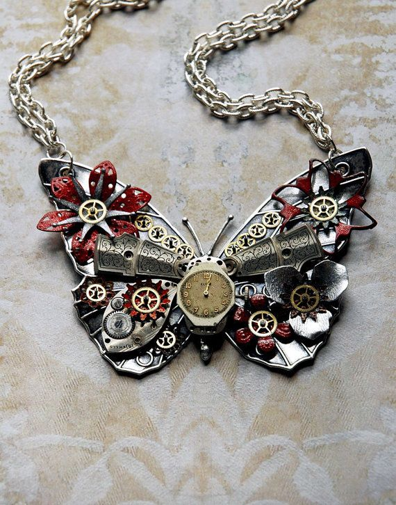 to add a steampunk element to a classic outfit ...? I think this is pretty darn cool.