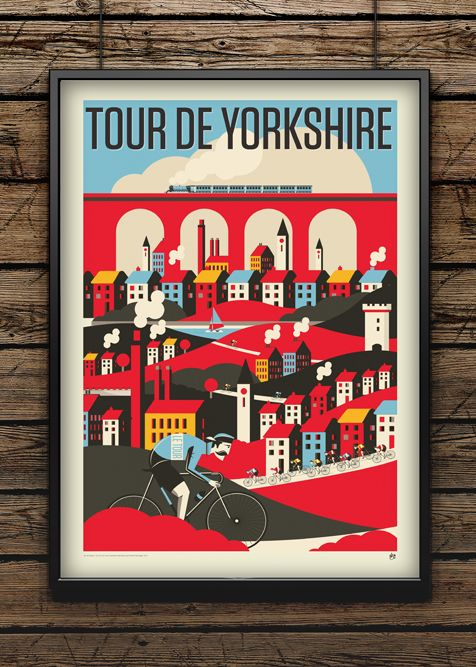 Tour de Yorkshire by Neil Stevens Print Shop