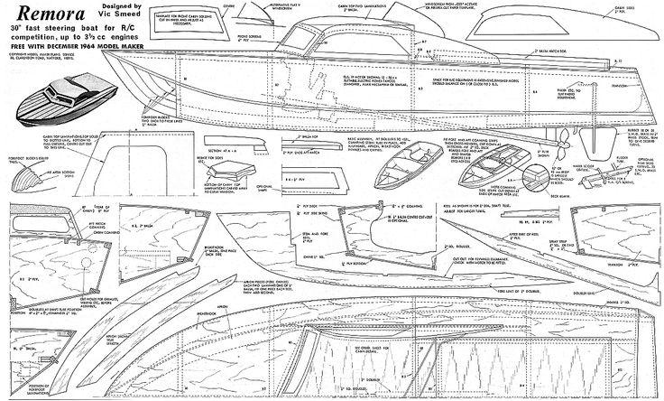 Free Plans: RC SHIP MODEL