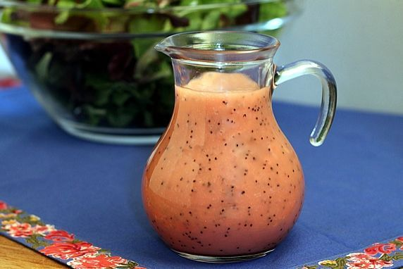 2 easy, yummy dressings -- Raspberry Vinaigrette & Raspberry Poppy Seed Salad