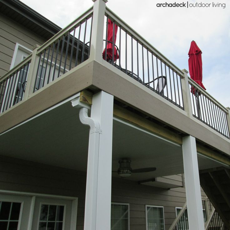17 best ideas about raised deck on pinterest deck diy deck and decks for Raised foundation types