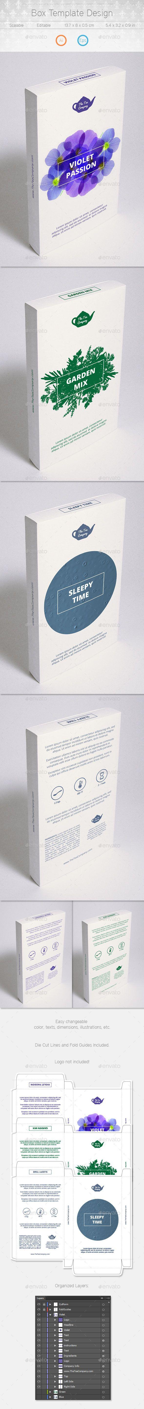 Box Design - Packaging Print Templates 10229161